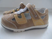 Новые кожаные сандалии для м/д  р. 30(18 см)