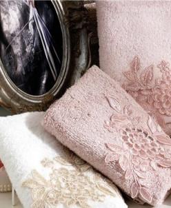 Махровые Полотенца с Вышивкой 30x50 см Venus - Royal Nazik