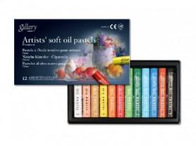 Набор масляной пастели Gallery Artists Soft Oil 12