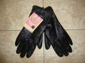 Новые, кожаные, женские перчатки. размер 8.