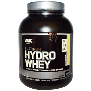 Optimum Nutrition, Platinum Hydro Whey (1.59кг) Vanilla