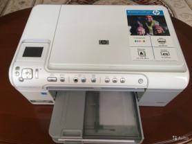 Продам принтер мфу HP photosmart c 5383