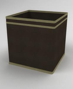 Коробка - куб (жёсткий) 27х27х27см