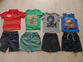 Фирменные шорты, футболки, поло, борцовки 4-6 лет