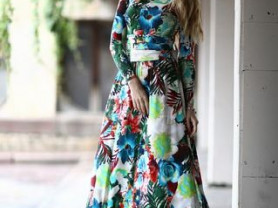 """Платье """"Бали"""" длины макси"""