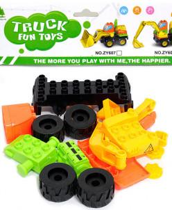 "Конструктор Truck fun toys ""Трактор"""