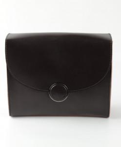 Женская кожаная сумка G-1157 Кофе