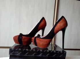 Новые туфли из натур. замши Sandra Valery, 36 р-р