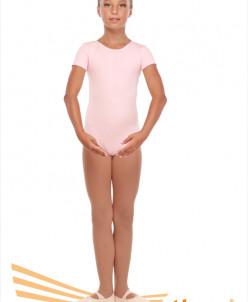 Купальник гимнастический рукав-футболка(хлопок)3 цв.р-р26-48