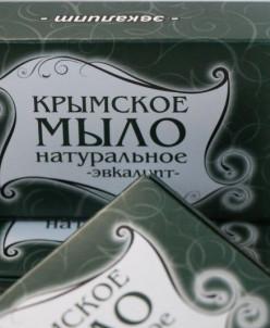 Крымское мыло 50 гр Эвкалипт