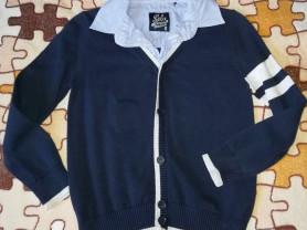 Джемпер (свитер обманка) р. 116 фирма sela