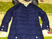 Куртка -пальто -парка - типа пуховик р.42-44, есть