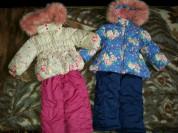 Зимние костюмы для девочек - новые