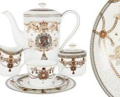 Чайный сервиз Принц Эдвард 21 предмет на 6 персон