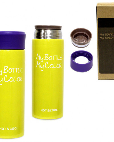 "Термос ""My bottle my color"" 330ml 17см"