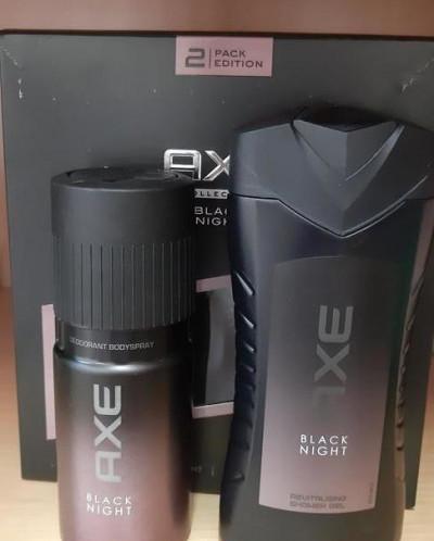 Axe black набор гель для душа+дезодорант
