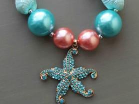 бусы морская тематика Handmade (США)