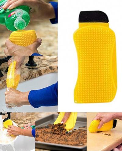 Губка-щетка силиконовая Sponge Hero