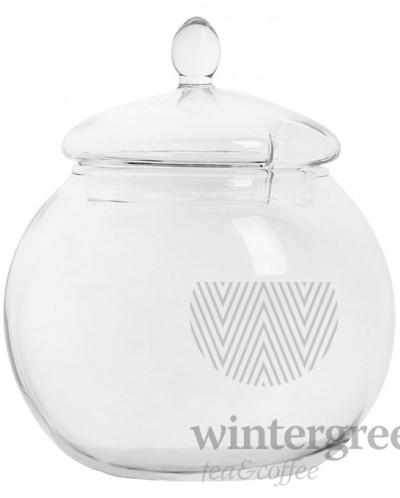 Сахарница Бутон лотоса из жаропрочного стекла 450мл доступно