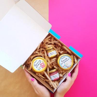 Подарочный набор со взбитым медом Nectaria - Школа.