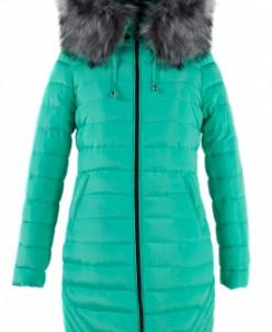 05-0819 Куртка зимняя (Синтепух 400) Плащевка Мята Куртка зи