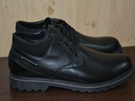 новые зимние ботинки нат кожа/нат мех р 43