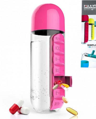 Бутылка для воды Капсула 600 мл.