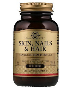 SOLGAR кожа, ногти и волосы (MCM формула) 120 табл