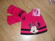 Новый комплект перчатки и шапка 4-8 л Disney