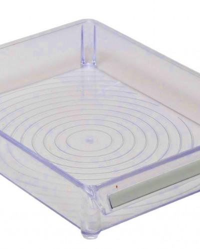 Контейнер для холодильника или шкафа (прозрачно-синий).