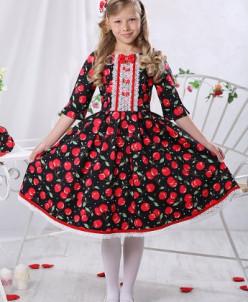 """Платье для девочки """"Вишенки"""""""