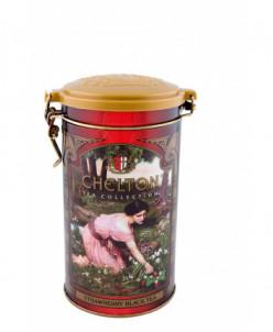 "Чай Chelton ""Черный чай с земляникой"" 120 гр ж/б"