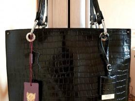 Новая сумка Gaude из лакированной кожи оригинал