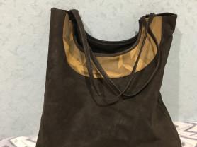 Эксклюзивная сумка из натуральной кожи
