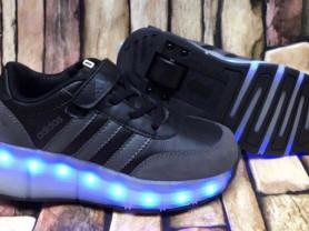Новые кроссовки на роликах Adidas, 31 размер