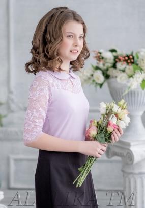Ф*анни блузка трикотажная младшая школа
