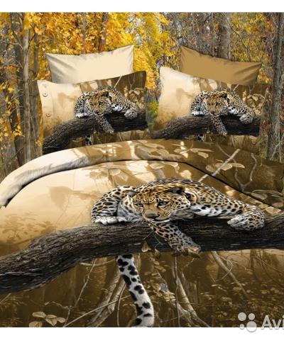 Гепард нат ветке ( 4 наволочки)