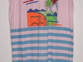 Платье летнее пляжное хлопок - р.52-54 ОГ 118 см