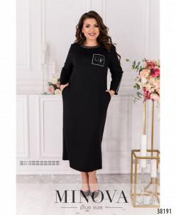 Платье №00094-Чёрный