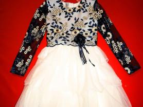 Новое нарядное платье 98 104 110 116 122 128