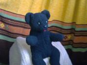 Мишка медведь игрушка старый опилки горбик СССР