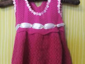 Новое хлопок платье 1-1,5 г