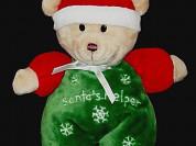 Новогодняя игрушка-погремушка мишка carters