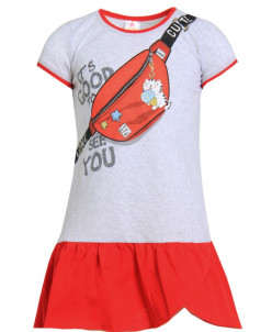 Платье детское Лина (кулирка)