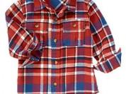 Фланелевая рубашка  Crazy8- 12-18м
