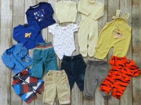 одежда на мальчишку 6-9 месяцев