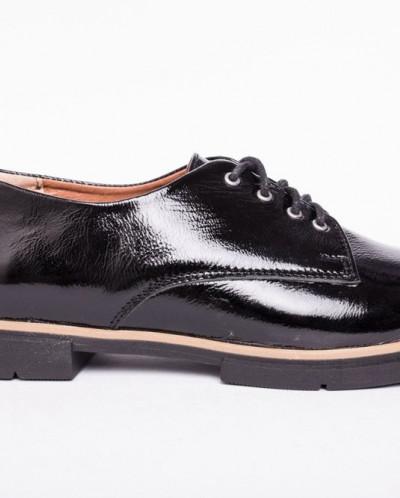 Туфли из натуральной лаковой кожи №303-1