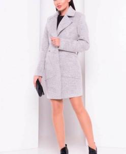 Пальто Габриэлла 3293 (светло-серый) Modus