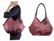 Новая вместительная кожаная сумка Италия