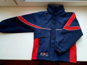 Куртка - ветровка с утеплением 128 разм
